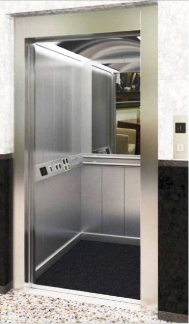 630 Kg 8 Kişilik insan asansörü